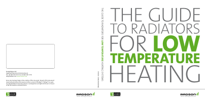Guide for Low Temperature Radiators