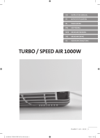 Notice Turbo 1000 W