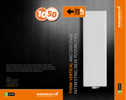 Think Vertical minibrochure