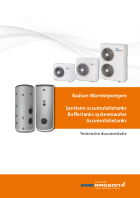Technisch document - Warmtepompen & Buffervaten