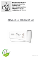 Manuel - Advanced thermostat